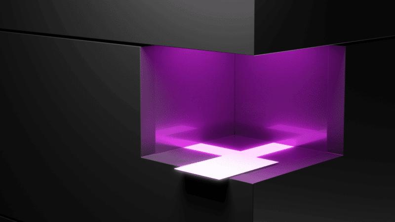 Multitouch Tisch optische Objekterkennung
