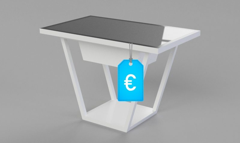 Multitouch Tisch Preis