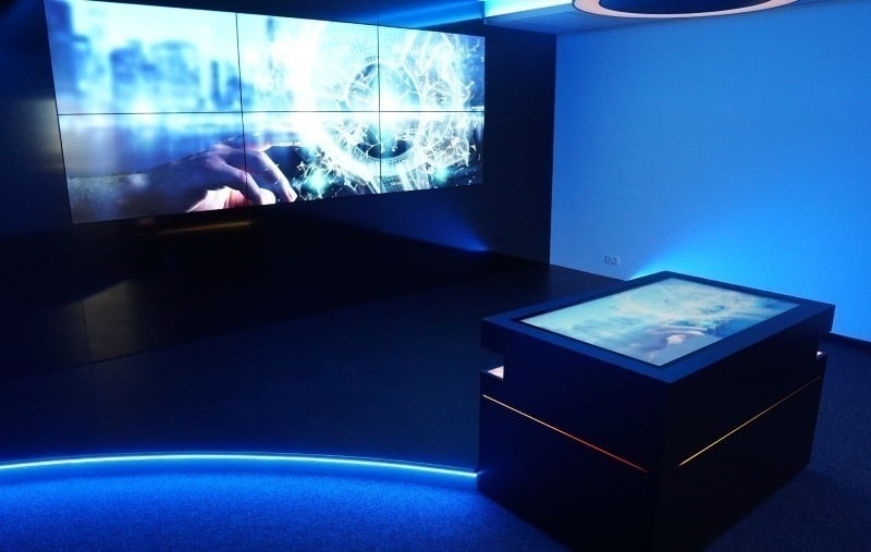 Interactive showroom - How to impress your visitors