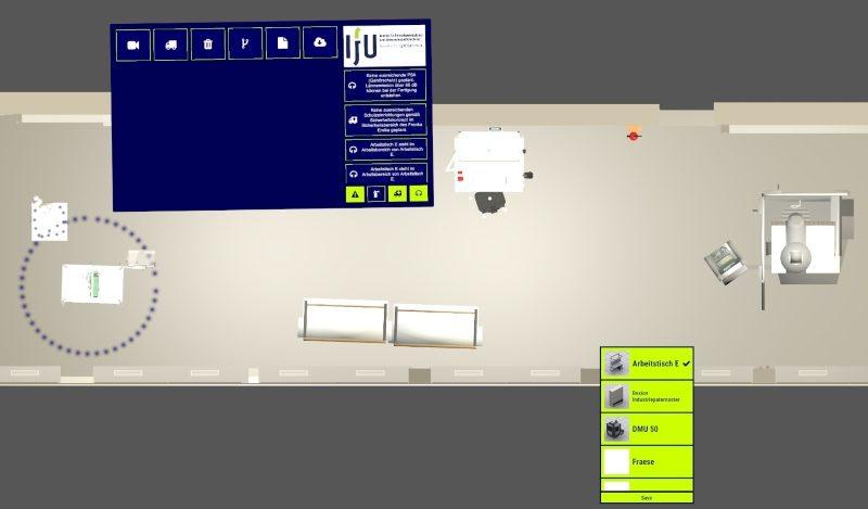 kollaborative Multitouch-Software