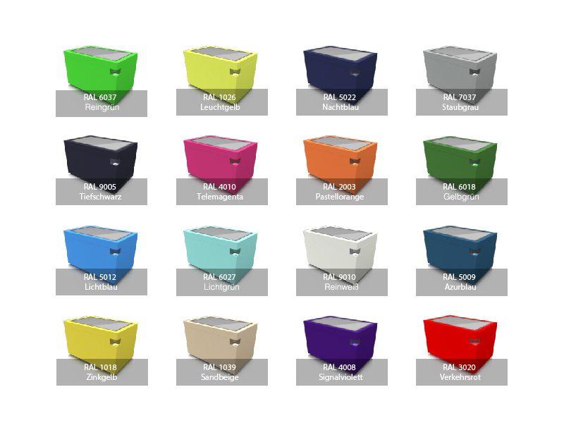 Farben und Designs für Multitouch Tables overview