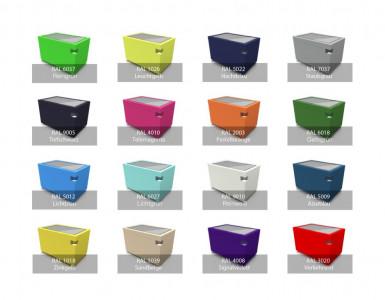 Garamantis Farben und Designs für Multitouch Tables overview large