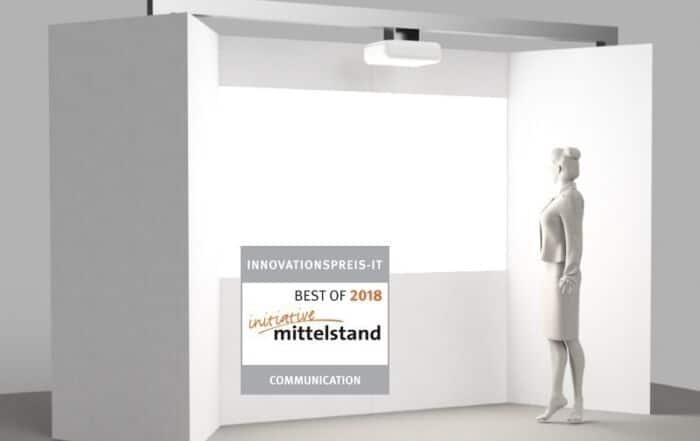 Innovationspreis-IT Auszeichnung für interaktives Projection Mapping
