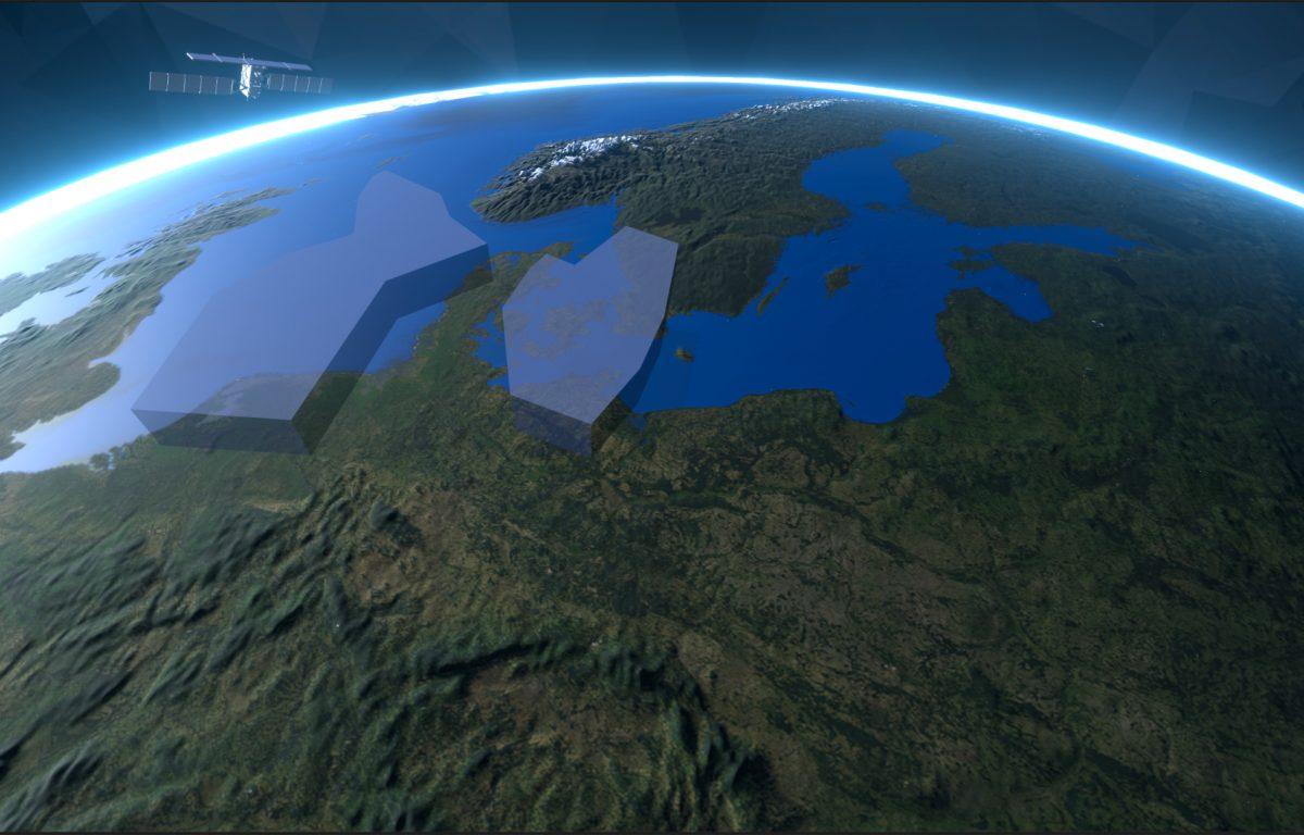 interaktive Lagebesprechung Luftwaffe auf Multitouch-Tisch