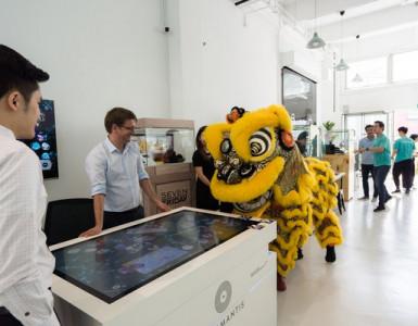 Common Grund Showroom Eröffnung in Singapur