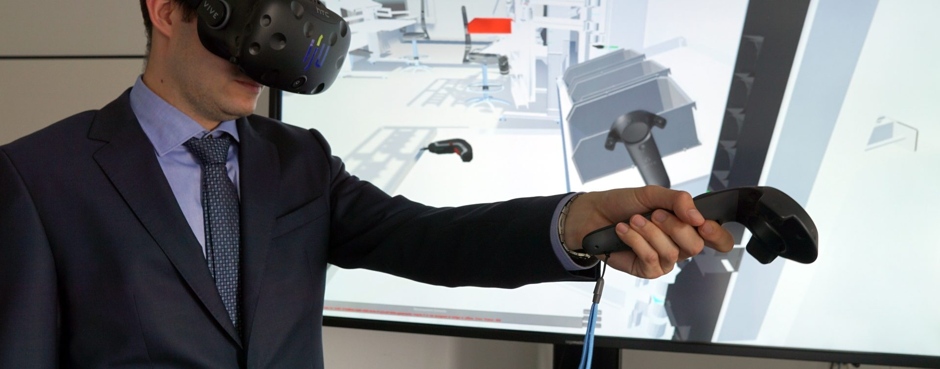 Interaktive Fabrikplanung mit Virtual Reality