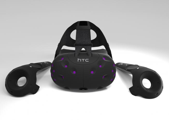 VR Brille HTC Vive und Controller
