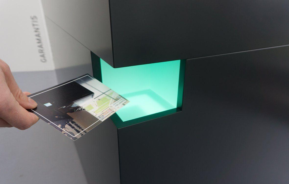 Prototyp des Multitouch Scanner Tisch