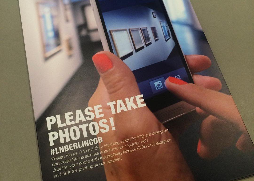 Social Printer Installation - Instagram-Fotos live drucken auf der Langen Nacht der Museen 2016