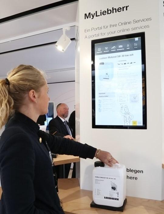 Simulation des Online-Shops unter Einsatz realer Beispielprodukte mit RFID-Technologie