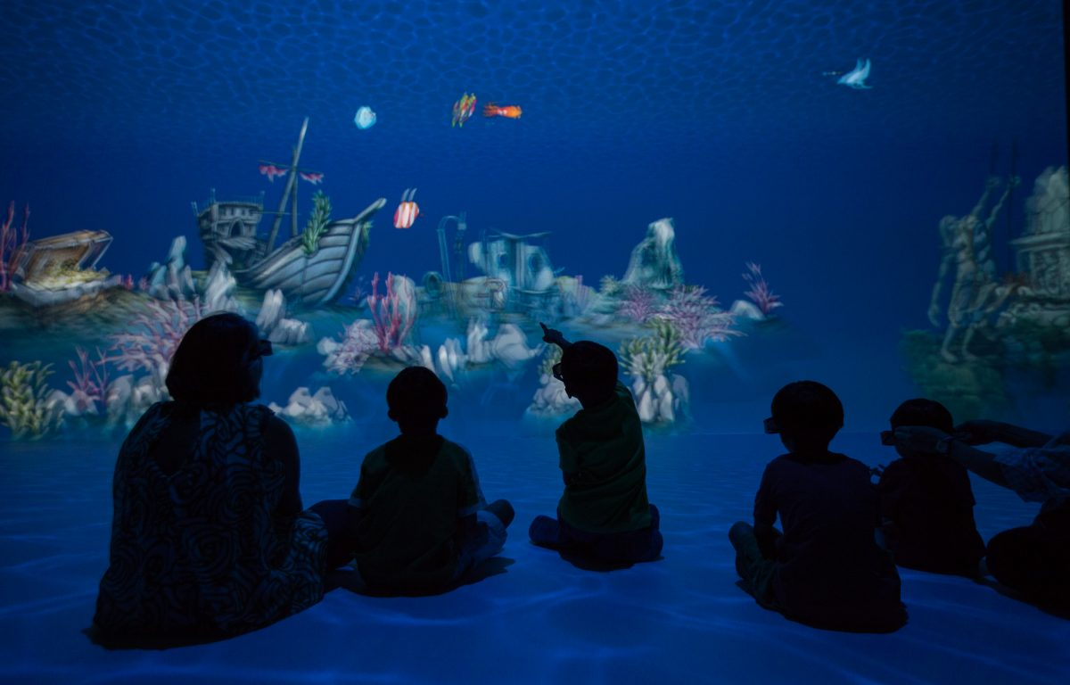 Interactive Interplay Exhibition at the Singapore Science Centre