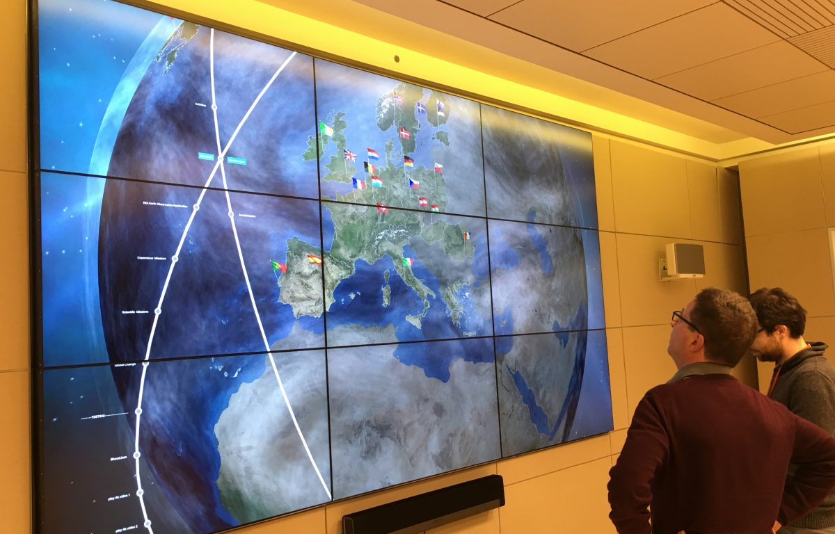 ESA Showroom Hyperwall