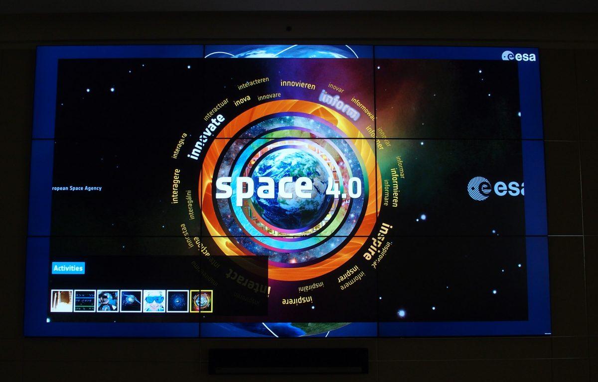 ESA Showroom at the Earth Observation Headquarters (ESRIN)