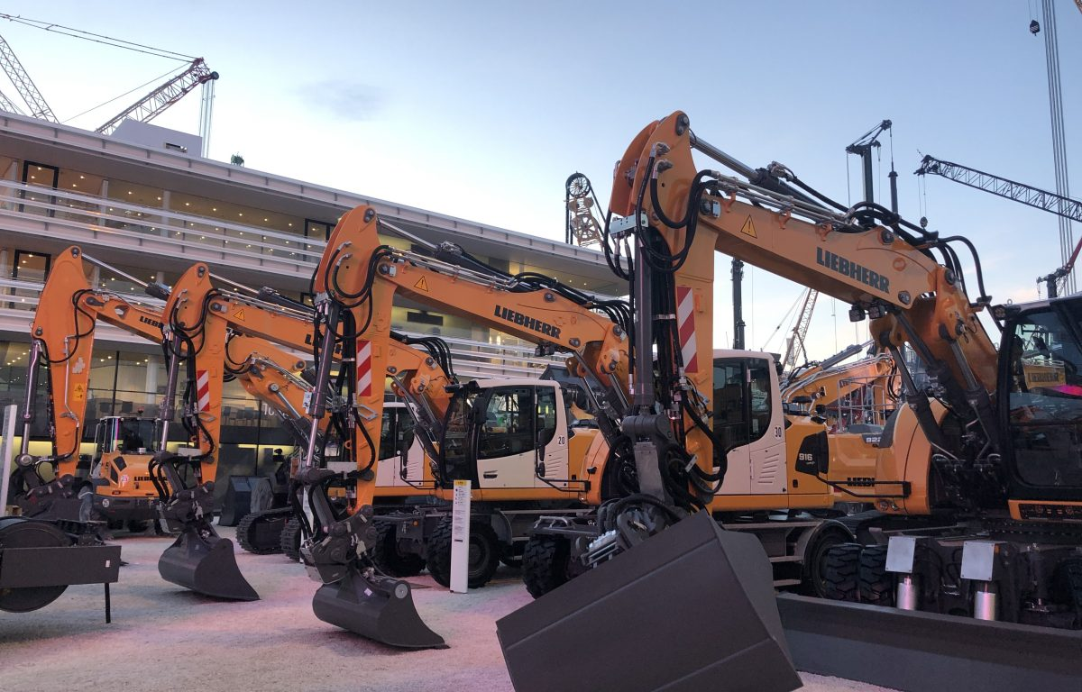 Liebherr with 14,000 square meters of stand space at bauma trade fair 2019