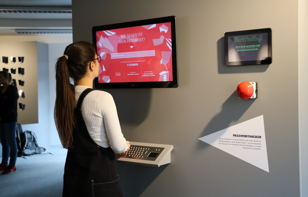 Participation is the order of the day, especially at the interactive stations