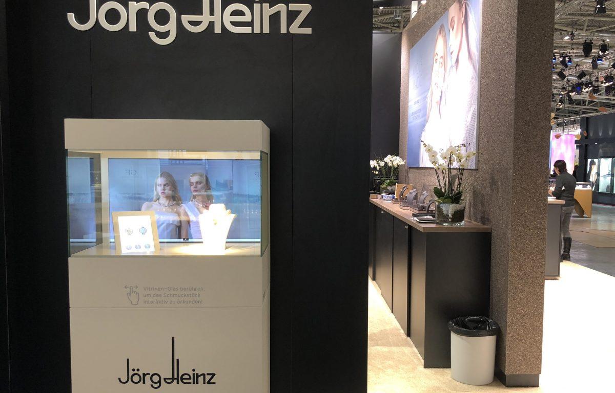 Inhorgenta 2018: Interactive trade fair stand by Jörg Heinz
