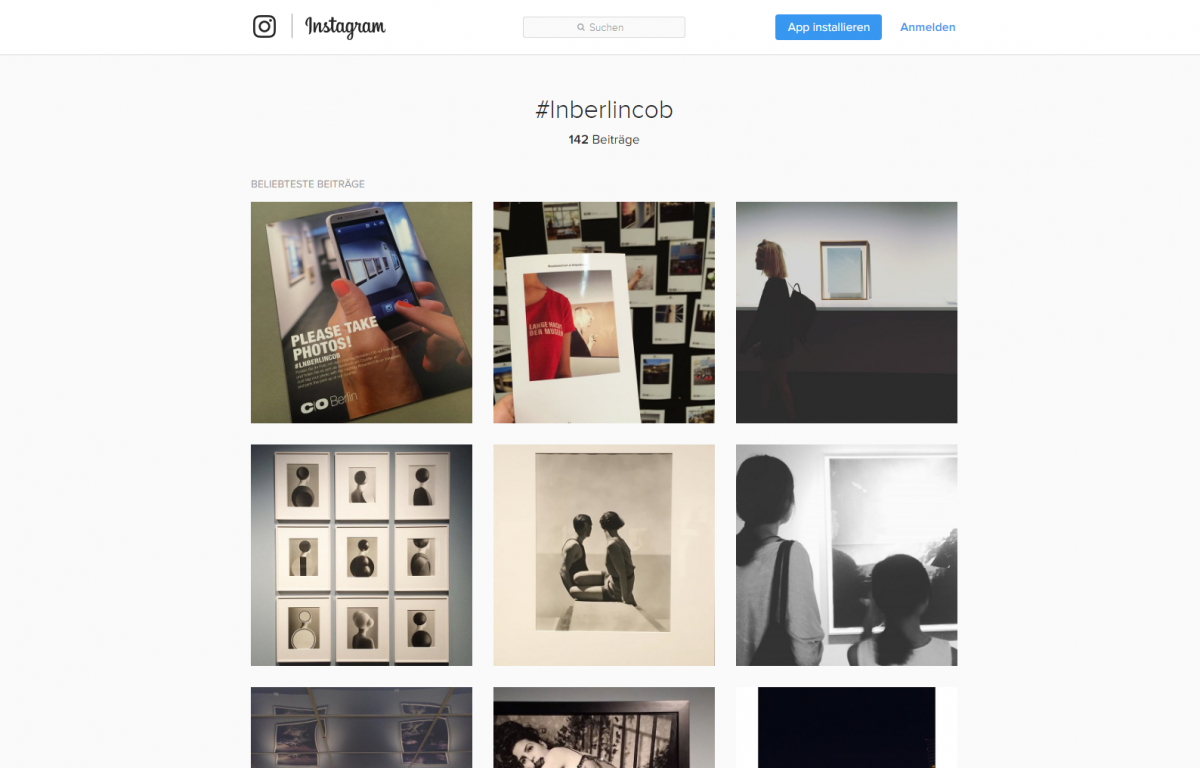 Instagram-Fotos von der Veranstaltung mit definierten Hashtags werden direkt nach dem Hochladen vor Ort ausgedruckt