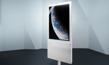 interaktiver Multitouch DrehScreen