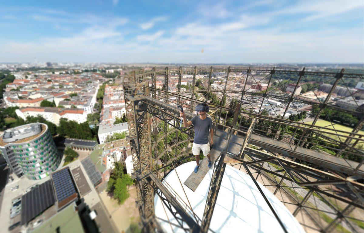 Virtual Reality Experience mit HTC Vive pro
