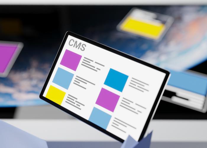 Garamantis CMS für Multitouch-Systeme