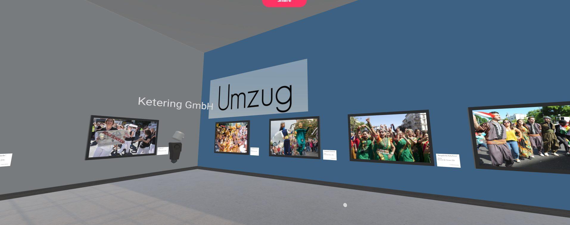 Karneval der Kulturen Umzug in virtueller Ausstellung