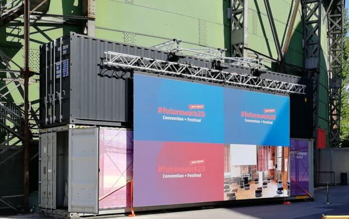Garamantis FutureWork20 Konferenz auf dem EUREF-Campus