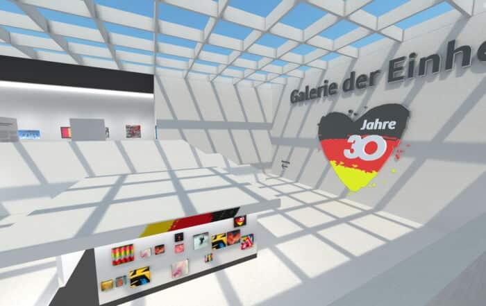 Virtuelle Galerie der Einheit