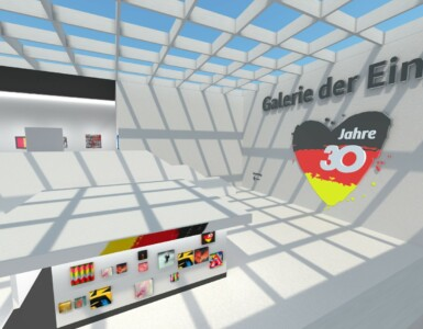 Virtual gallery of unity