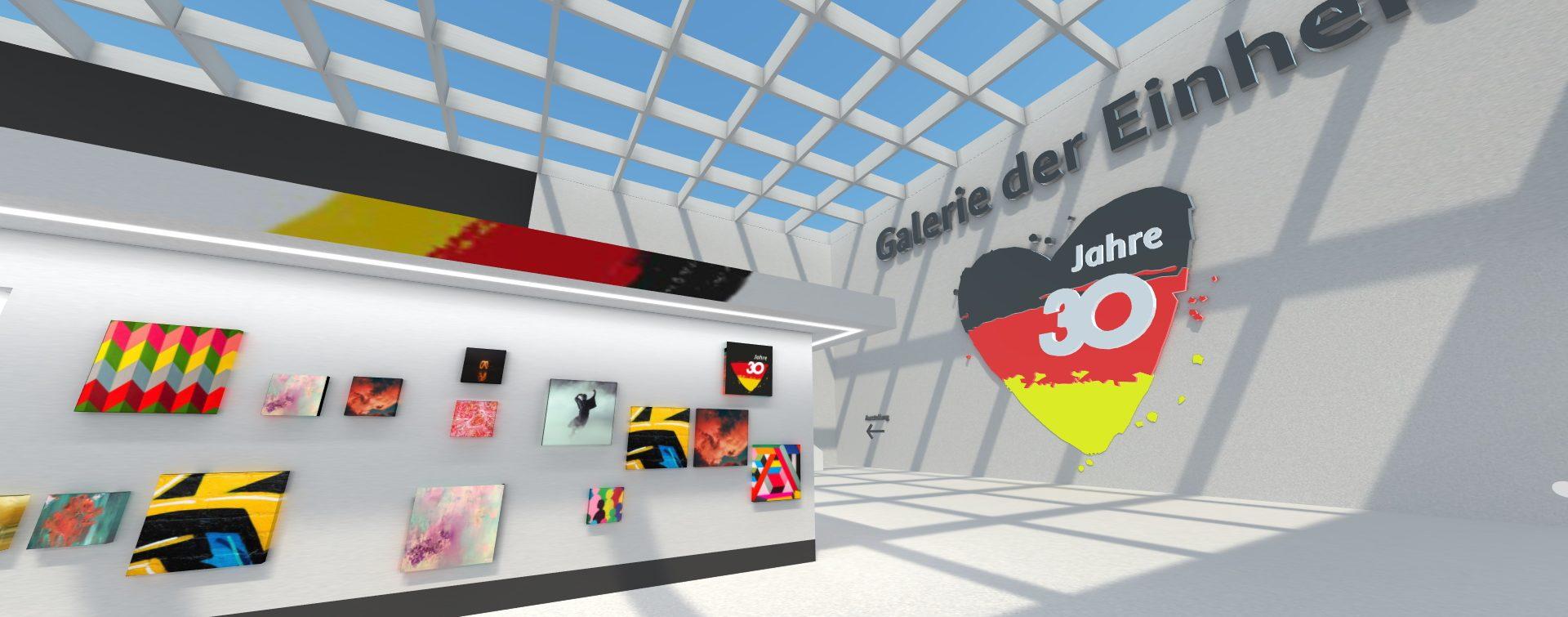 """Virtuelle Ausstellung zur """"Galerie der Einheit"""""""