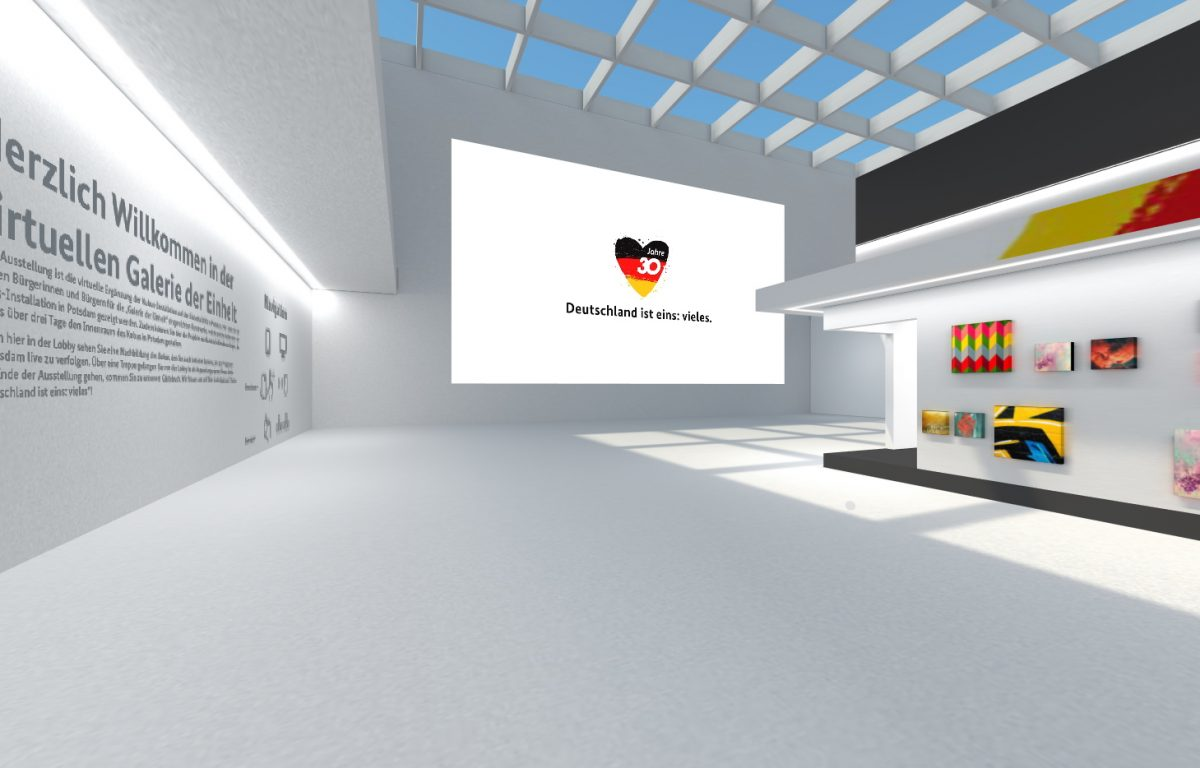 Der 30. Tag der Deutschen Einheit in Potsdam wird auch digital gefeiert