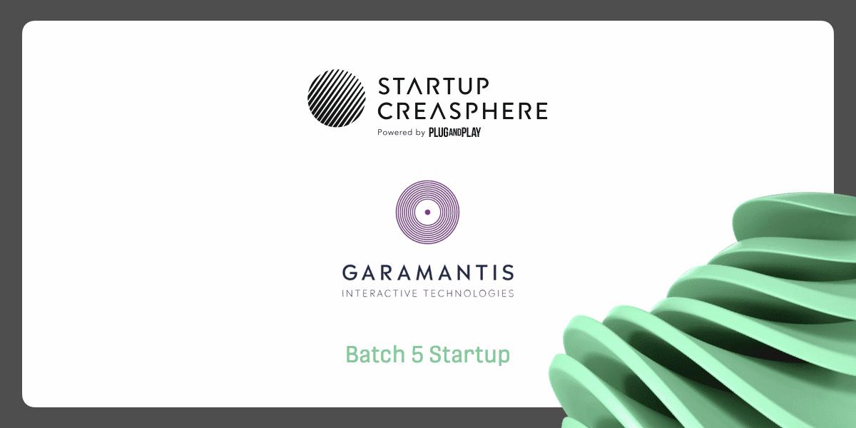 Garamantis ist Teil der Startup Creasphere