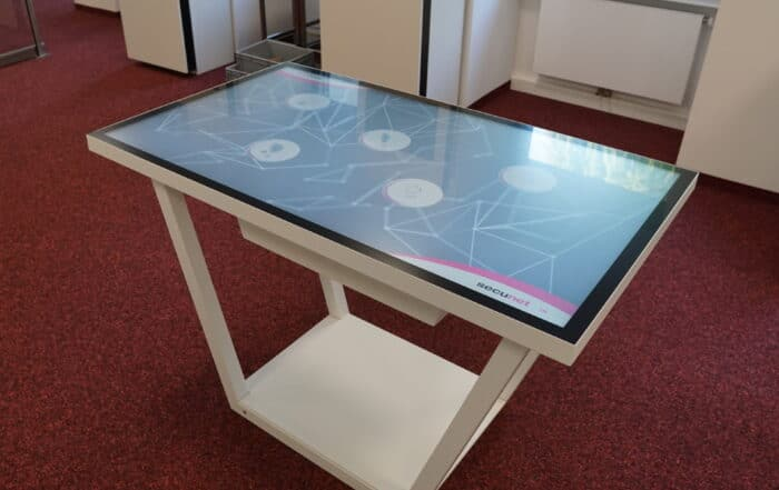 Multitouch table - schedule and plan roll-out