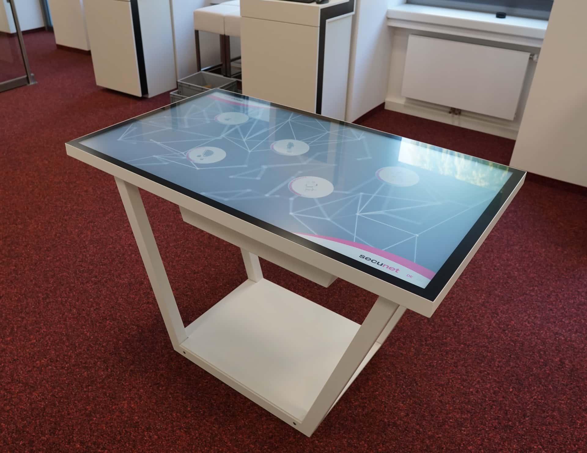 Multitouch-Tisch - Rollout planen