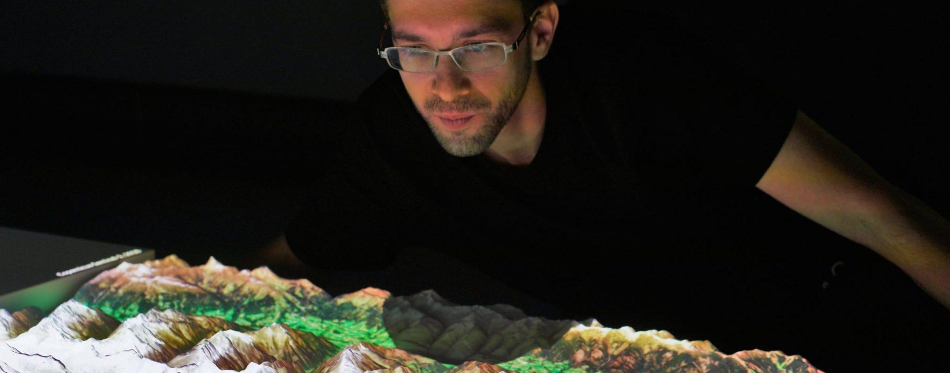 Klimawandel im Blick - interaktive Projektion