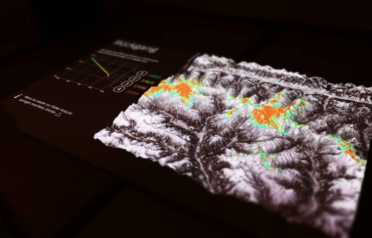 interaktive Ausstellung zum Klimawandel