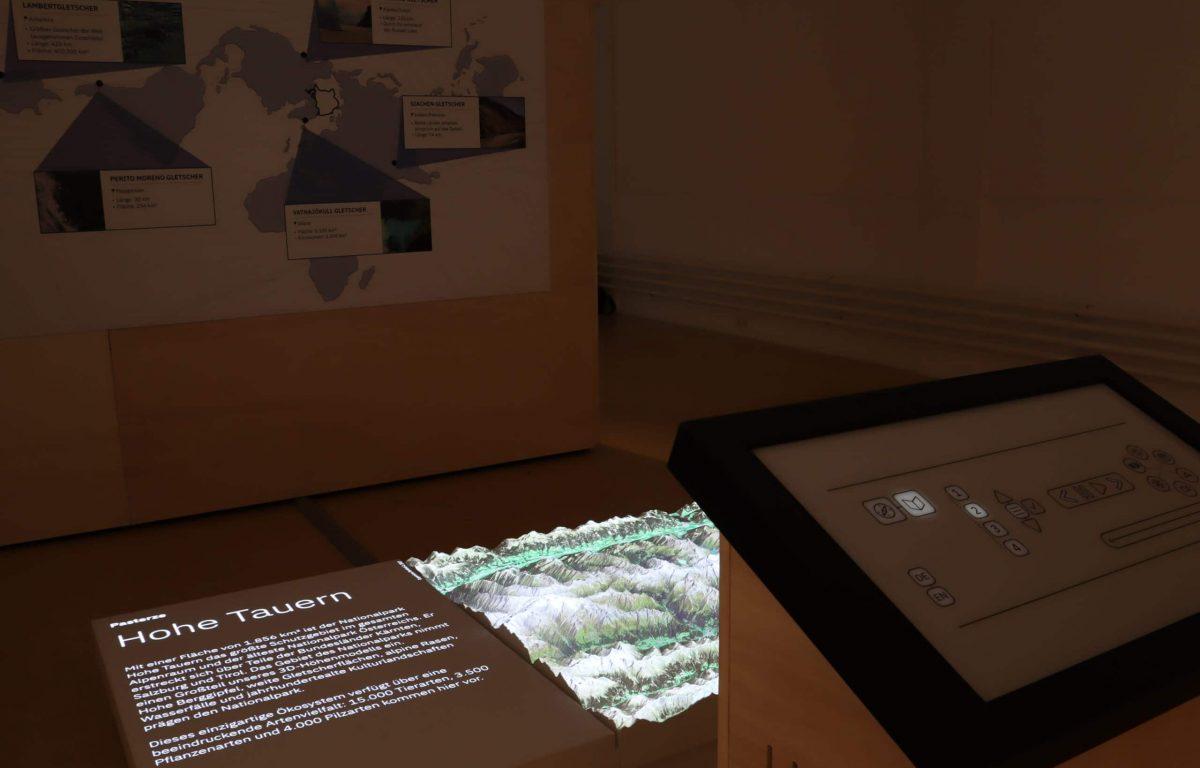 """""""Wir sind Klima"""" informative, interaktive und partizipative Station"""