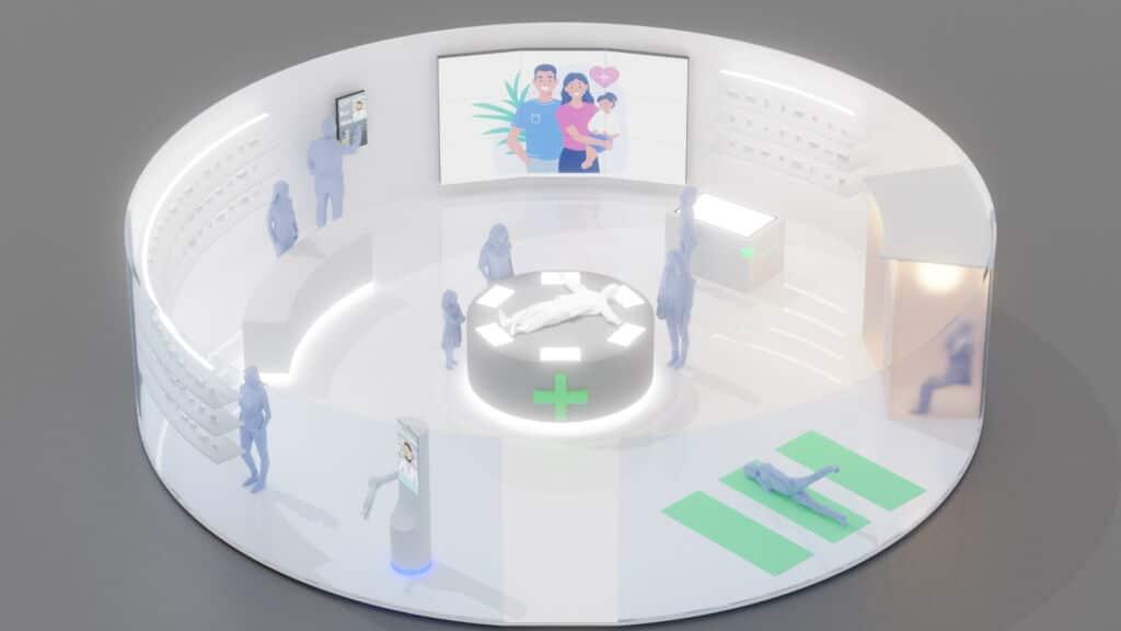 interaktive Technologien in der Apotheke der Zukunft