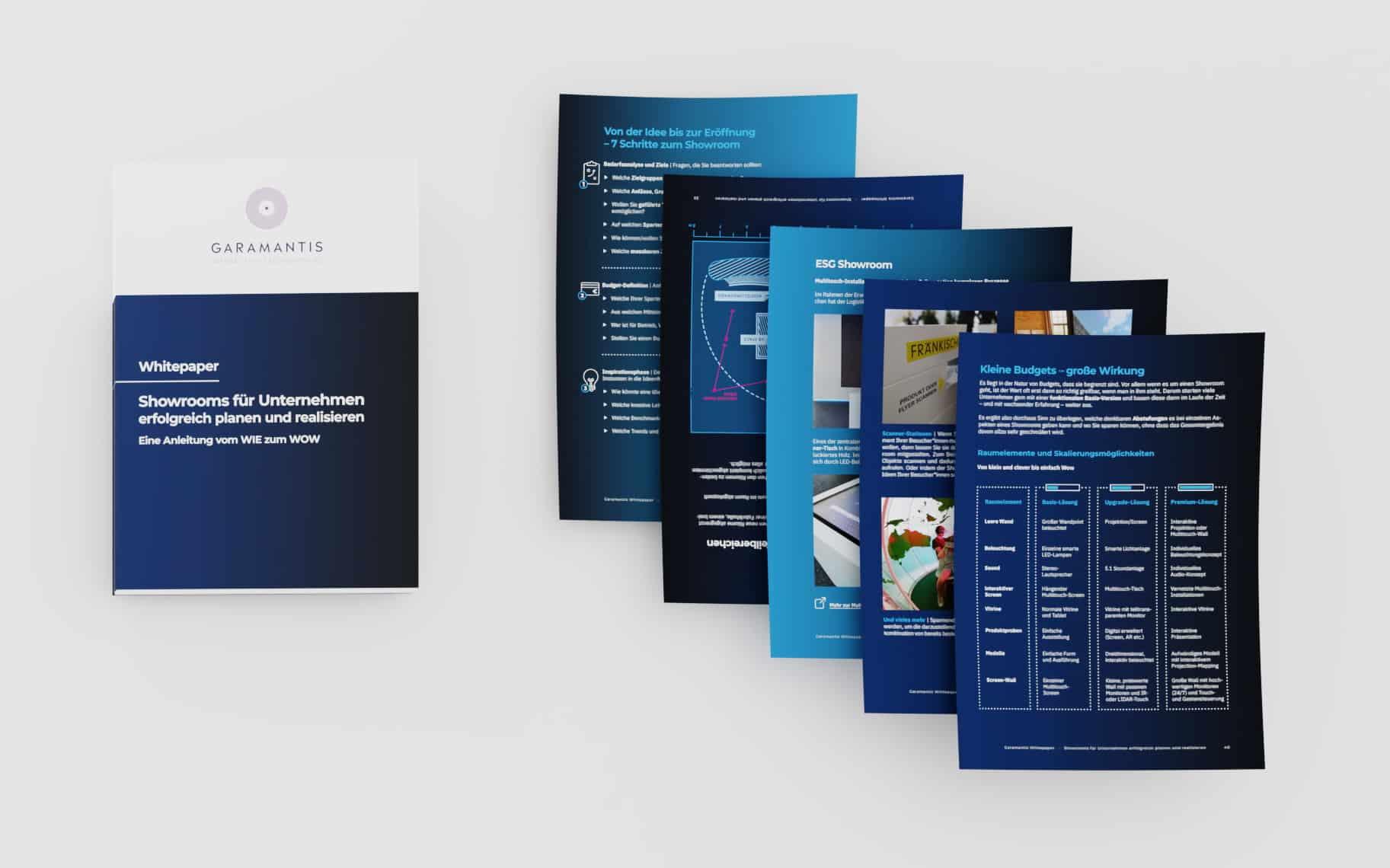 Showroom für Unternehmen - Garamantis Whitepaper
