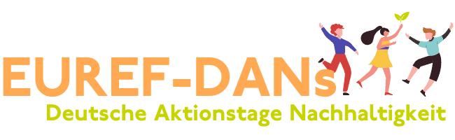 EUREF Deutsche Aktionstage Nachhaltigkeit Logo